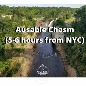 ausable chasm hiking adventures new york