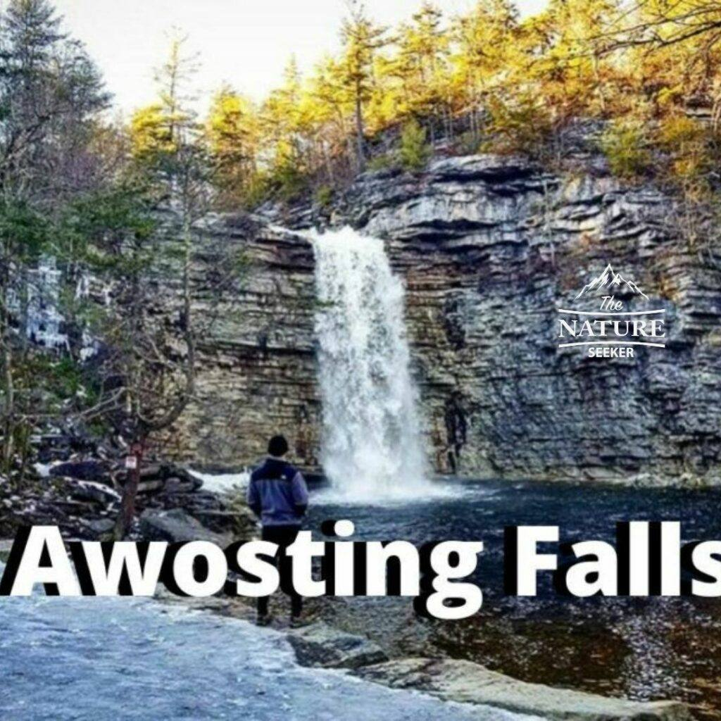 awosting falls located in new york state
