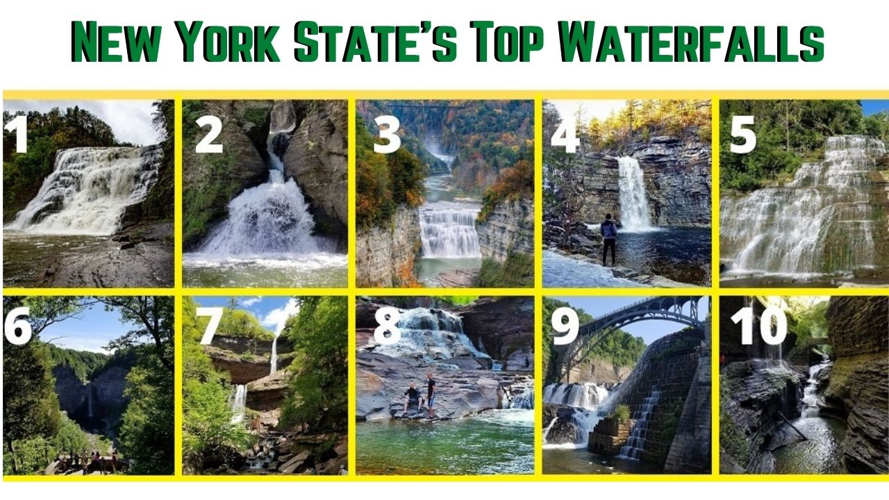 best waterfalls in all of new york state