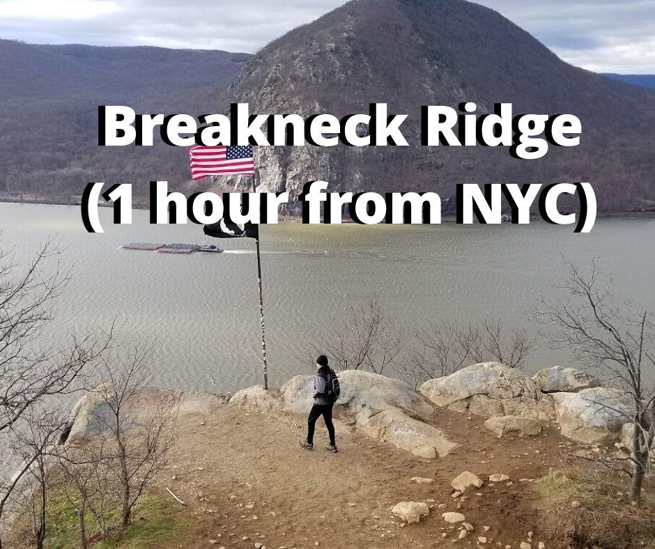 breakneck ridge day hike near nyc