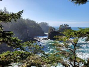 cape flattery pacific west coast
