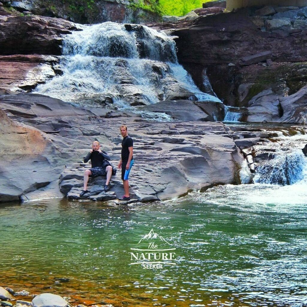 catskill secret waterfall located in new york state