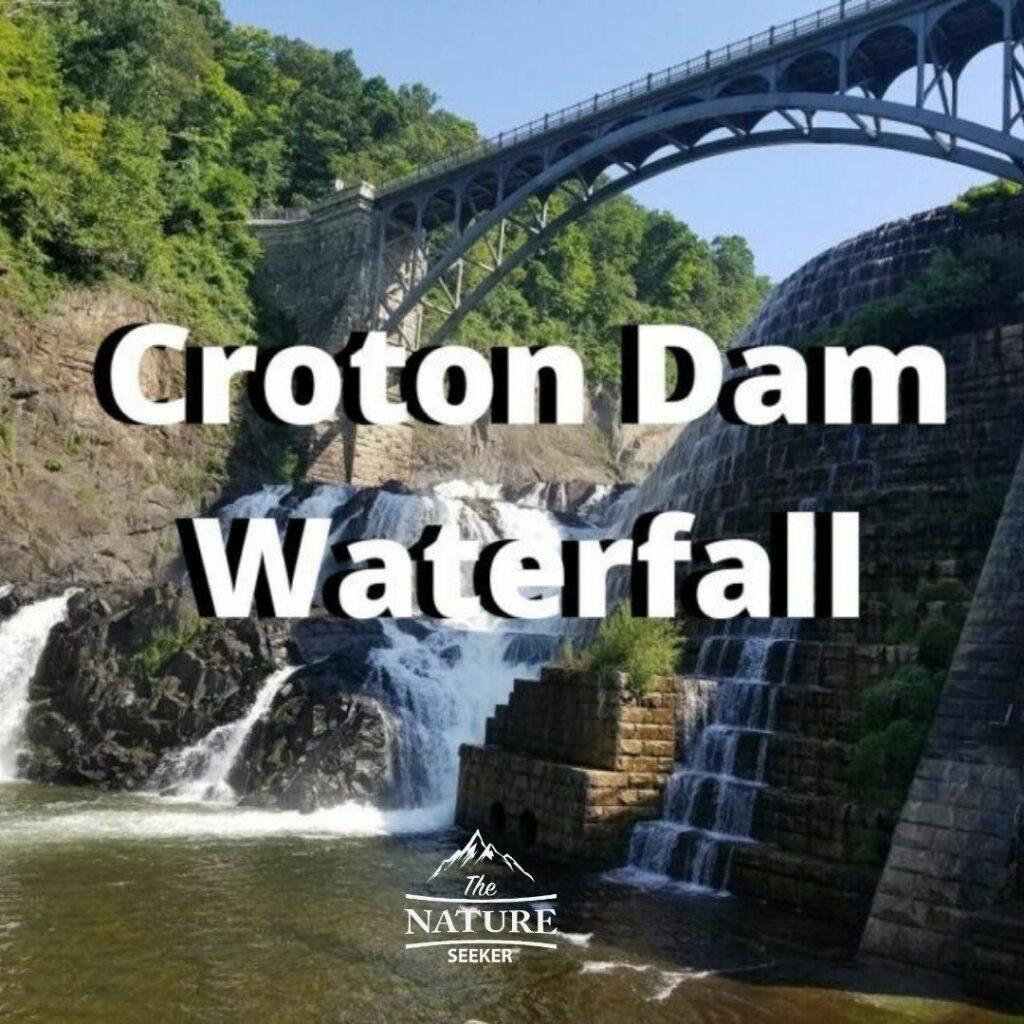 croton dam waterfall located in new york state