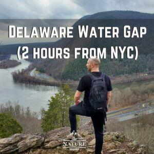 delaware water gap hike near nyc