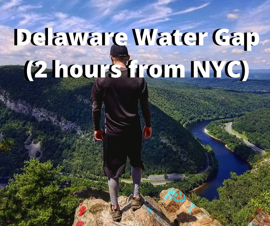delaware water gap mt. marcy hiking trail near nyc