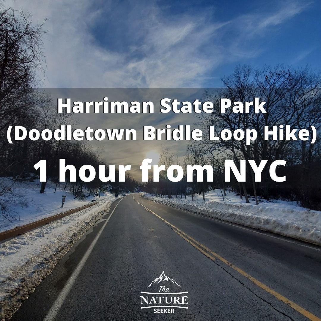 doodletown bridle loop hike harriman state park near nyc