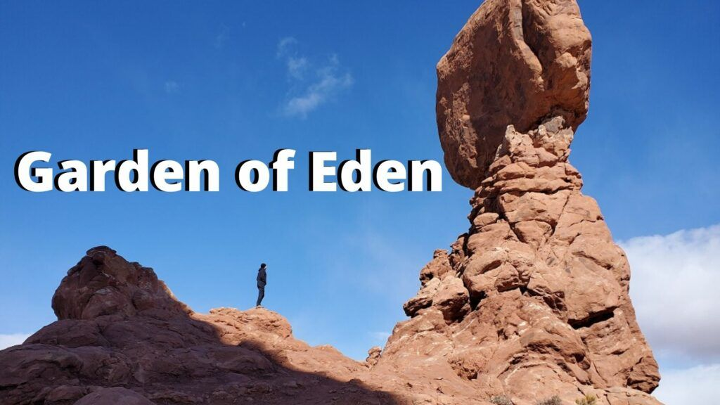 garden of eden arches national park