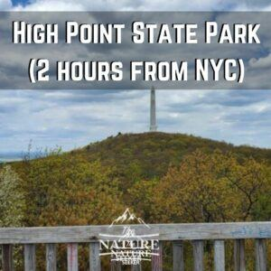 high point state park hiking near new york city