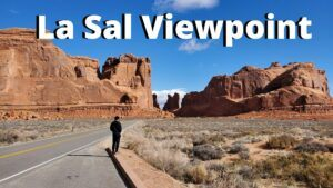 la sal viewpoint arches national park