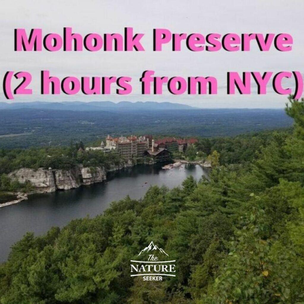 labyrinth mohonk preserve hike near new york city
