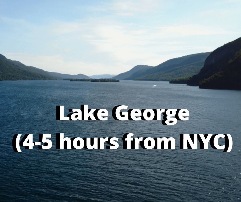lake george hiking opportunities outside of NYC