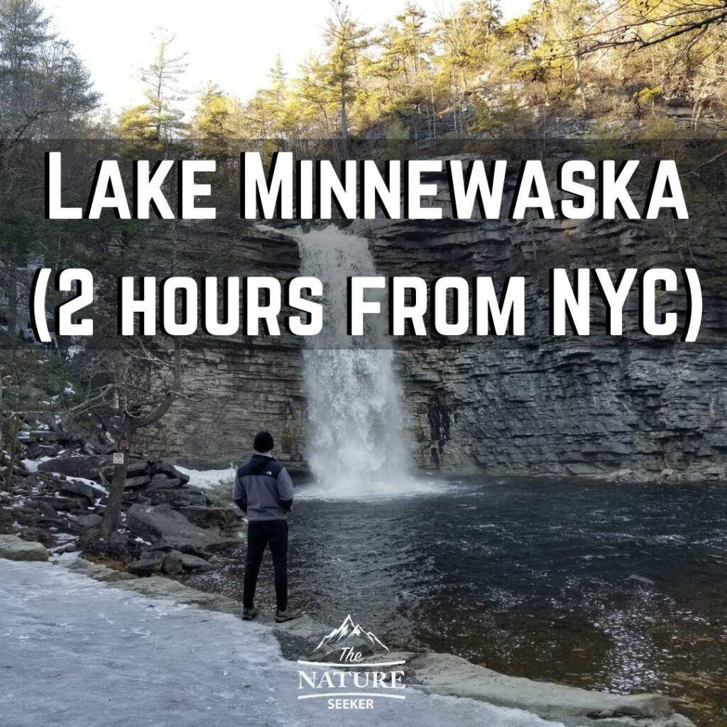 lake minnewaska hikes near new york city