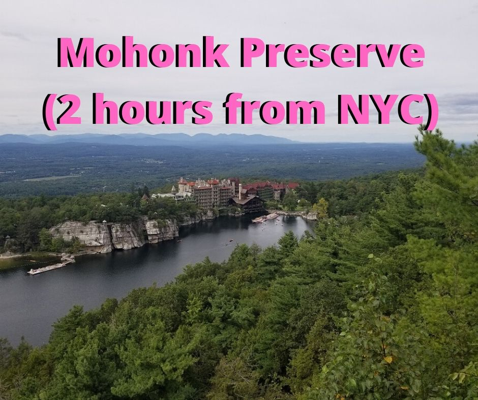 mohonk preserve labyrinth day hike near nyc