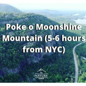 poke o moonshine hike in new york adirondacks