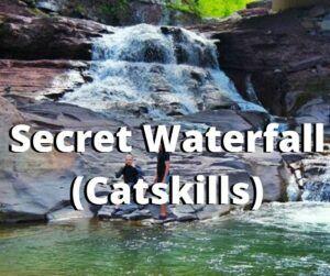 secret waterfall catskills