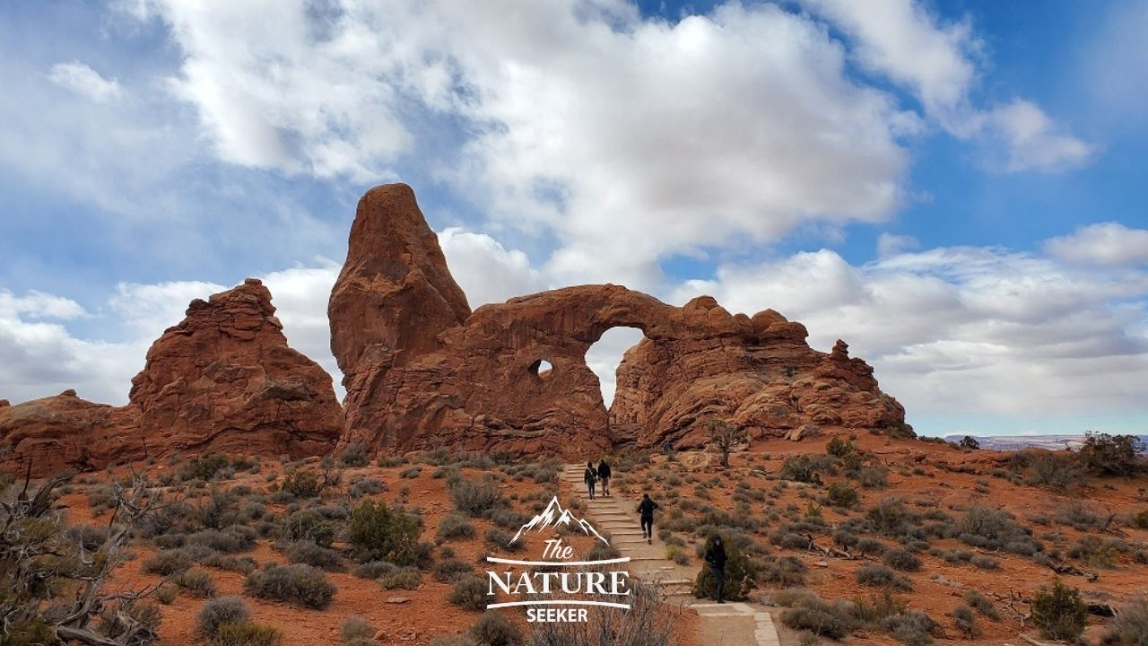 the turret arch at arches national park 01