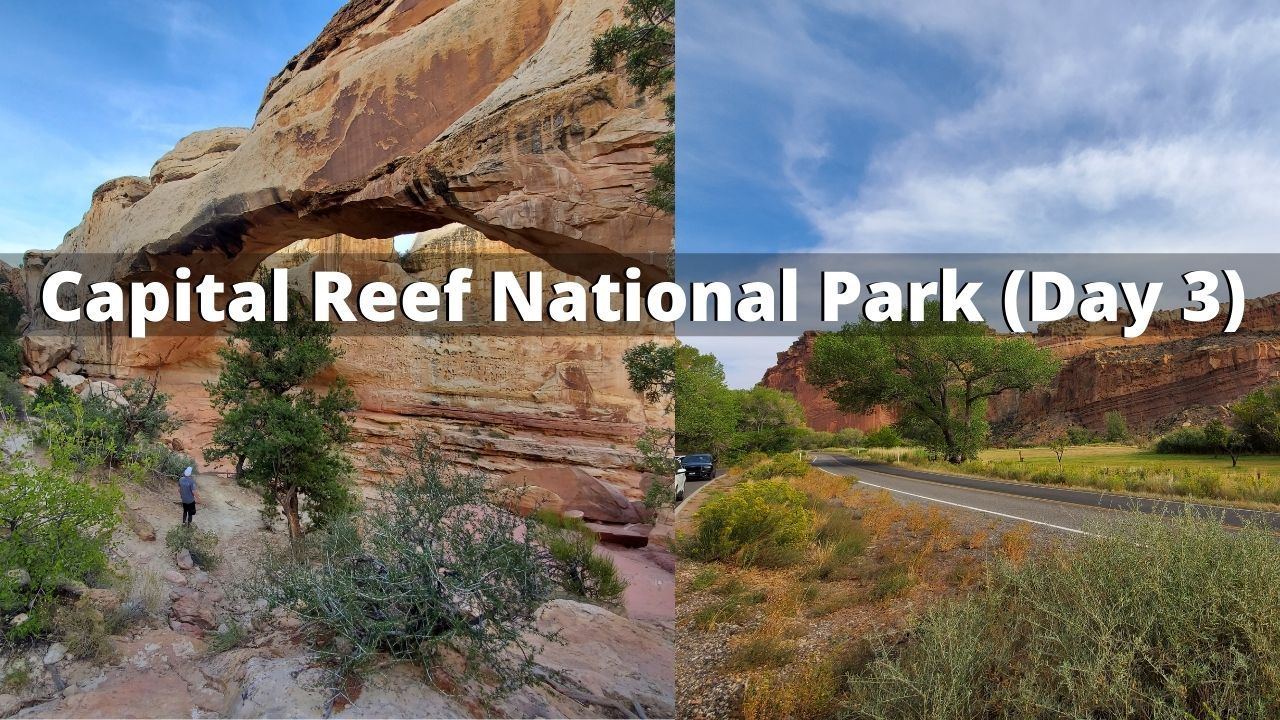 capital reef national park mighty 5 utah