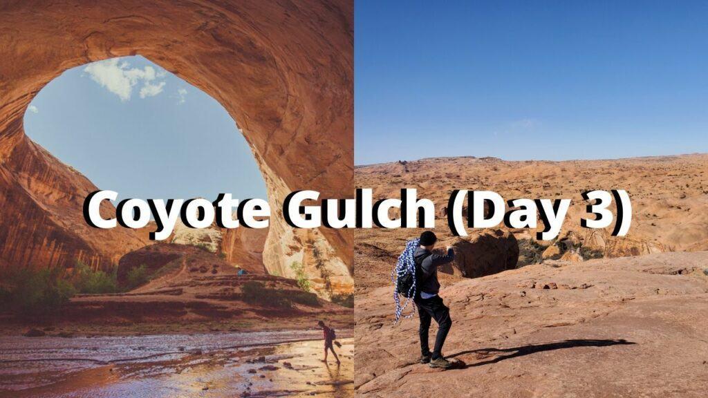coyote gulch utah road trip