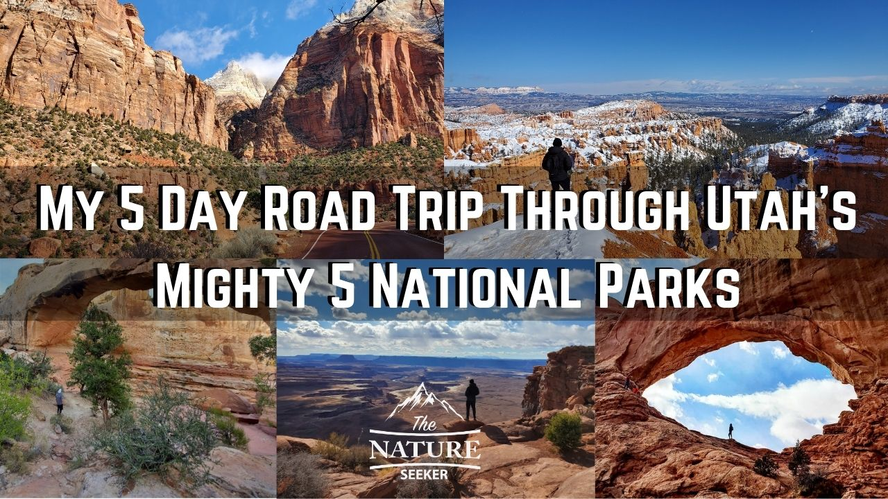 utah mighty 5 national parks road trip