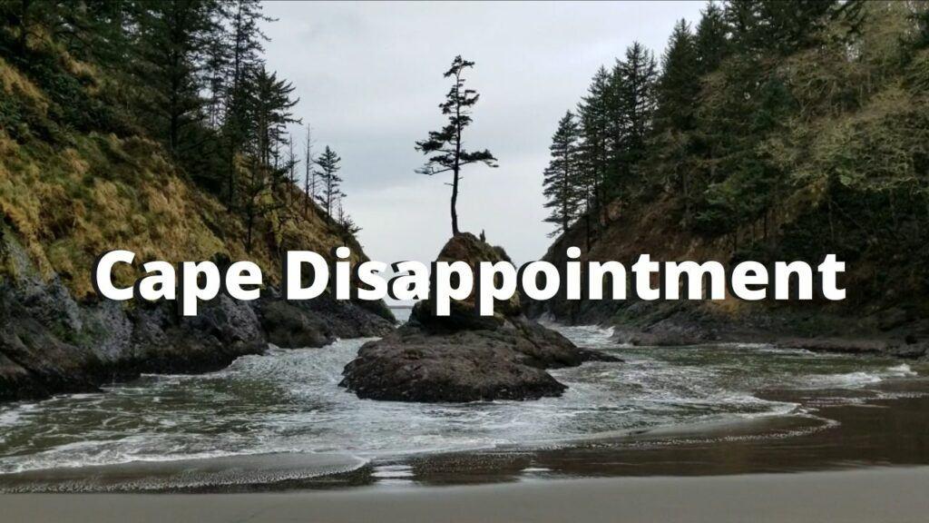 cape disappointment washington coast