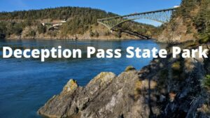 deception pass state park washington coast