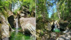 green mountain national forest texas falls upper and lower