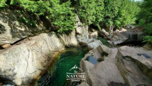 green mountain national forest warren falls swimming hole