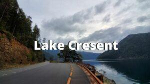 lake cresent washington coast