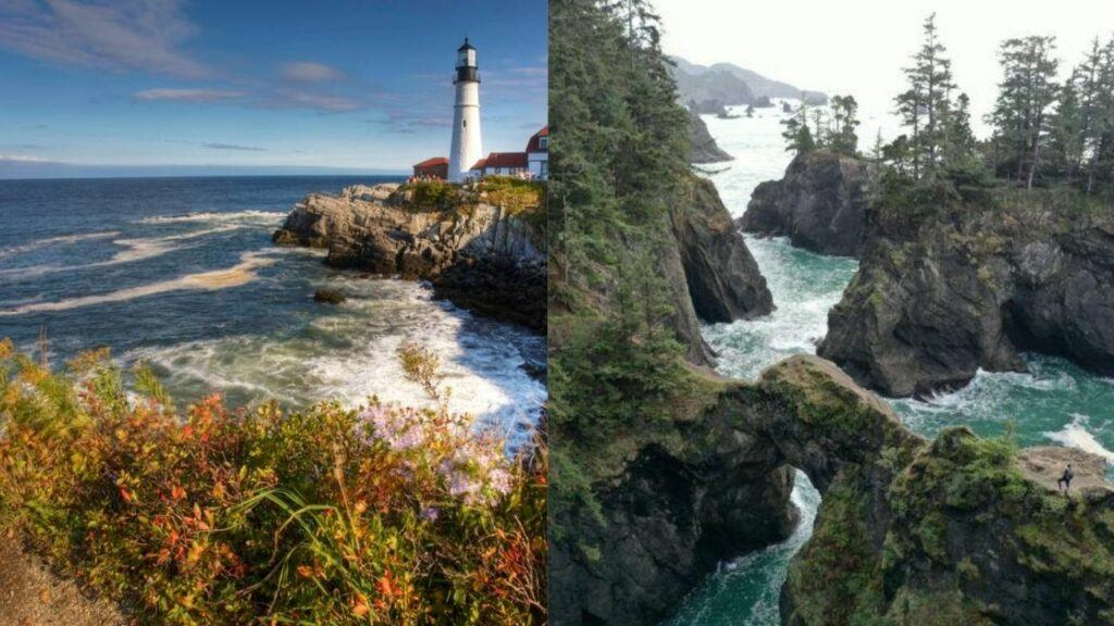 maine coast vs oregon coast 2