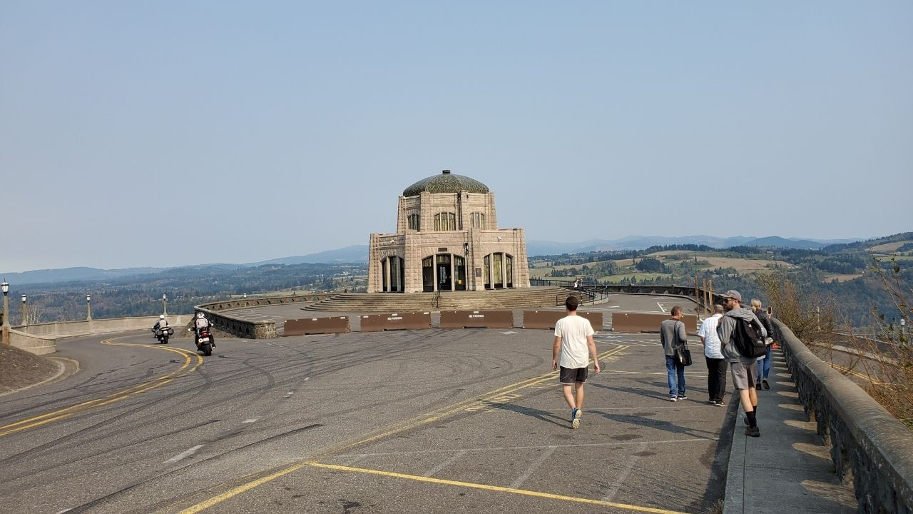 columbia river gorge vista house