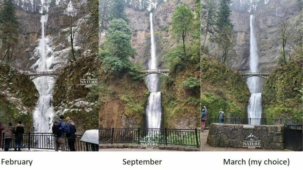 when is the best time to visit columbia river gorge