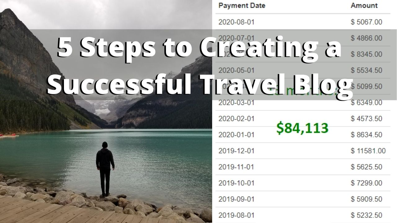 5 Steps to Creating a Successful Travel Blog