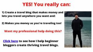 how to get started with a travel blog