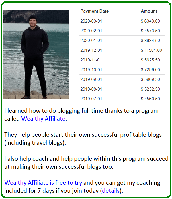 5 step help with travel blogging