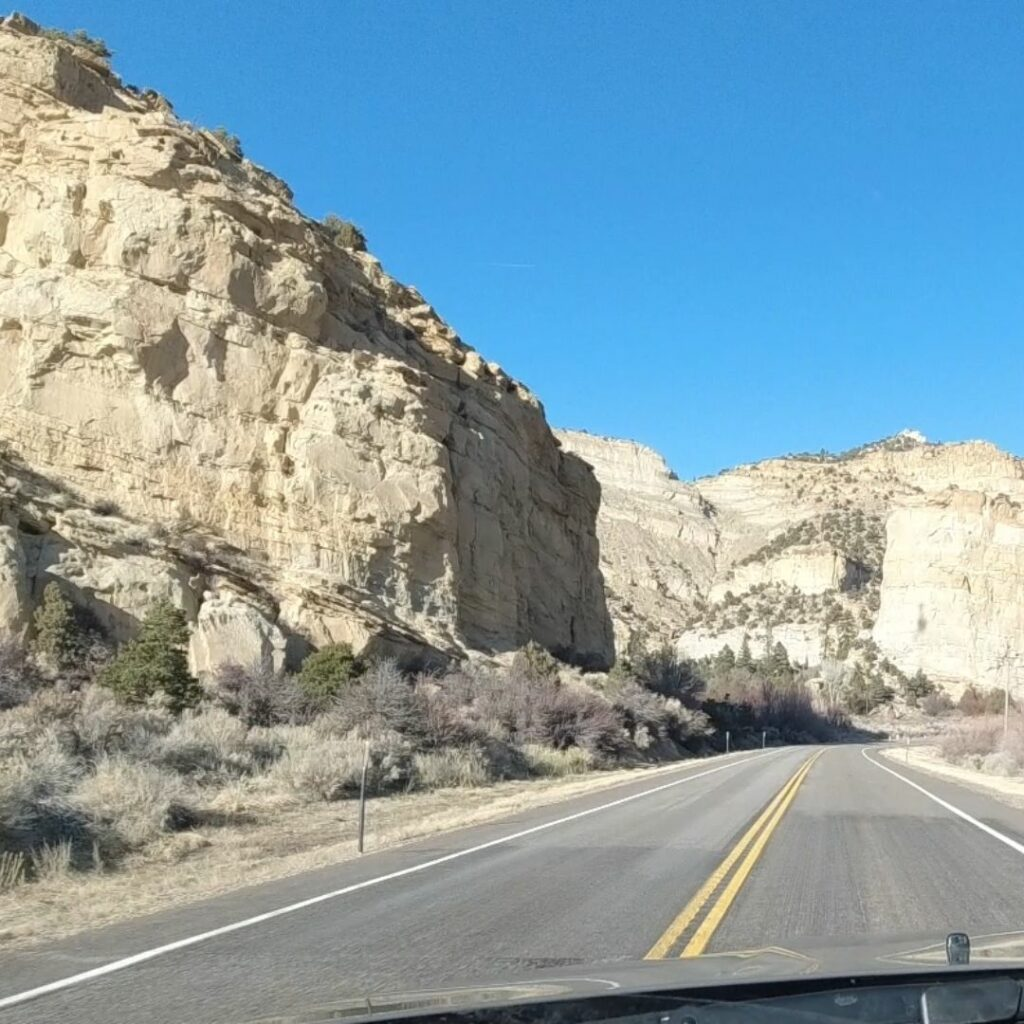 scenic road 12 utah