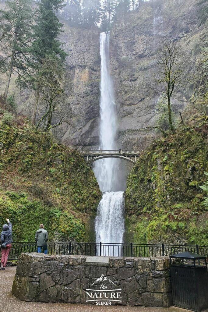 multonomah falls columbia river gorge