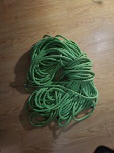 rope for hiking into coyote gulch