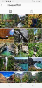 nature seeker instagram page
