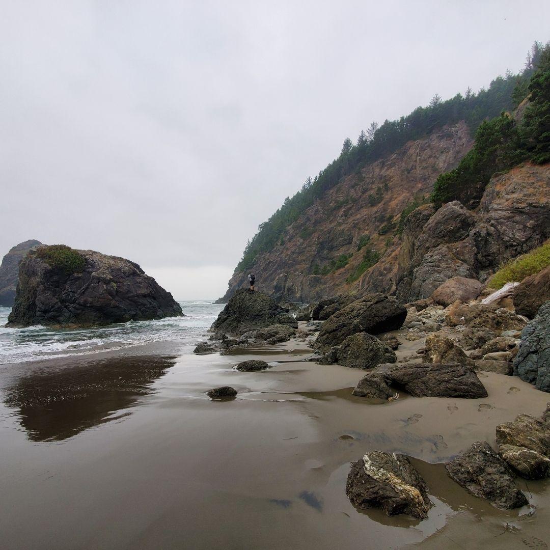 whaleshead beach oregon coast day hike
