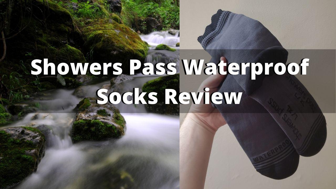 Showers Pass Waterproof Socks Review
