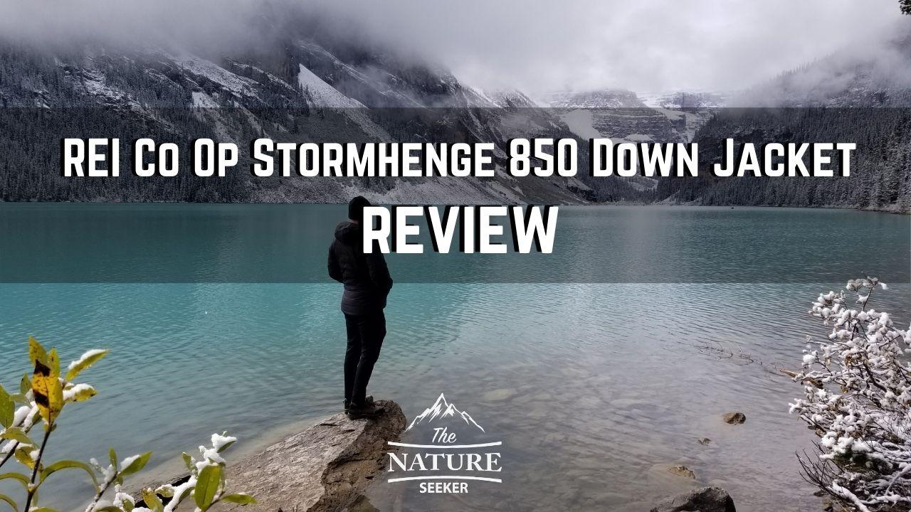 REI Co Op Stormhenge 850 Down Jacket review