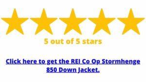 get the rei co op stormhenge 850 down jacket