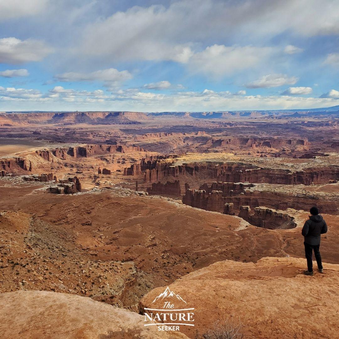 grand view overlook hike utah
