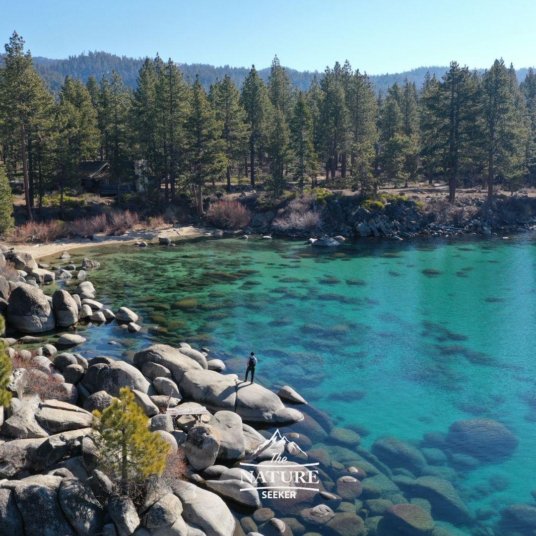 lake tahoe scenic drive in northern california