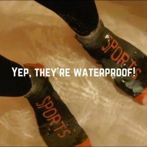 randy sun waterproof socks test