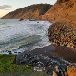 scenic drive in northern california route 1 near fort bragg
