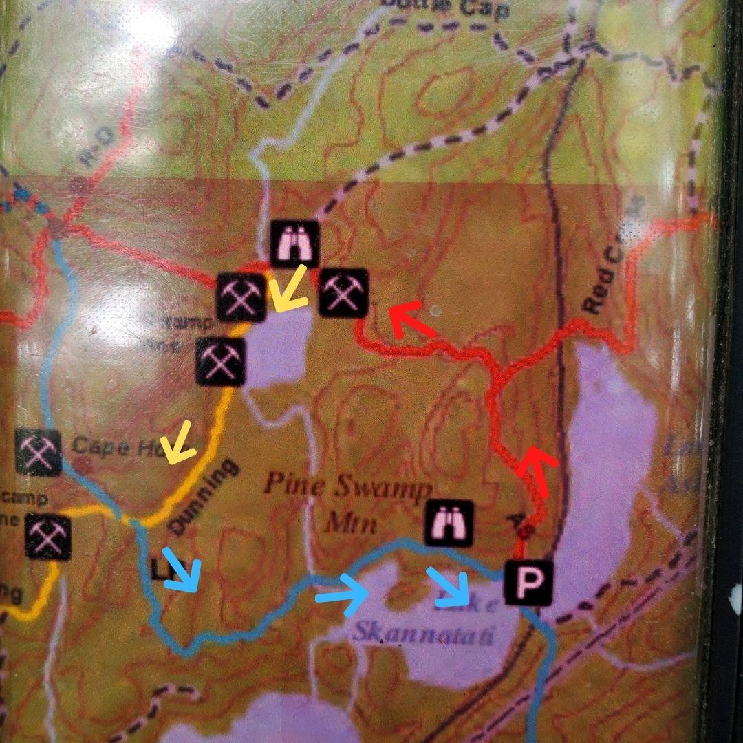 harriman state park pine swamp mine trail