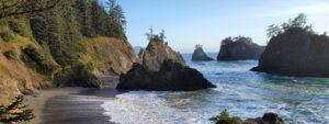 Secret Beach View From Oregon