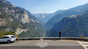 yosemite national park overlook of valley