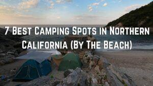 beach camping northern california coast